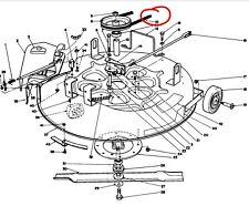 98-0710 toro Wheel Horse trasero con motores Rider hoja cortador de correa de transmisión 8-25 70122