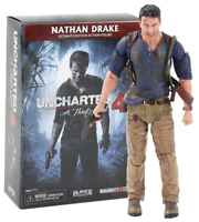 """NECA Nathan Drake Uncharted 4 Ultimate 7"""" Action Figure Collection 1:12"""