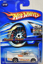 HOT WHEELS 2006 DOUBLE VISION #215 WHITE FACTORY SEALED