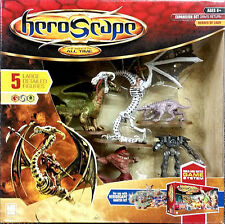 RARE HEROSCAPE ORM'S RETURN HEROES OF LAUR 5 FIGURE EXPANSION SET BRAND NEW MIB!