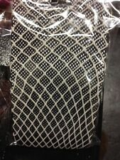 Gothic Goth Black & Grey Double Layer Fishnet Tights.