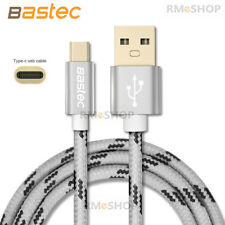 Genuine BASTEC Type-C Charger Data Cable - Samsung S9 S9+ S8 LG G6 Huawei 1.5M