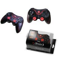 WIRELESS DUALSHOCK PS 3 CONTROLLER für SONY PLAYSTATION 3 PS3 Joypad SCHWARZ NEU