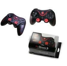 Wireless DualShock PS 3 controller per Sony Playstation 3 ps3 JOYPAD Nero Nuovo