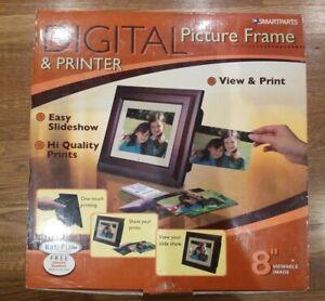 Smartparts SP8PRT 8-Inch Digital Picture Frame & Printer
