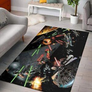 Millennium Falcon Star Wars Rugs for Bedroom Decor