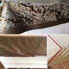 ANTIQUE AMISH REAL NATURAL WOOL PLUSH TAPESTRY VINTAGE CARRIAGE BLAKET BEDSPREAD