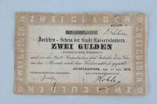 Kaiserslautern - 2 Gulden 31.Juli 1870