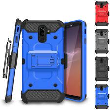 For Samsung Galaxy J2 J3 J7 J8 Holster Case Rugged Heavy Duty Kickstand Cover