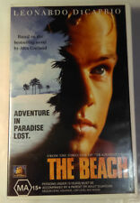 The Beach VHS 2000 Drama Danny Boyle DiCaprio 20th Century FOX Large Case