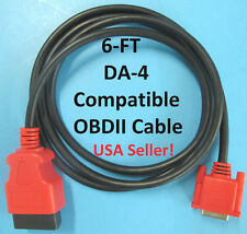 6FT Snap On Scanner DA-4 Compatible OBDII OBD2 Data Cable for MODIS EDGE EEMS341