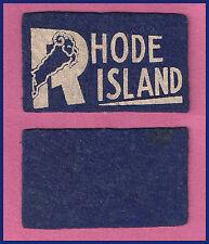 VINTAGE 1950's University of Rhode Island Rams Football Candy Felt Pennant!