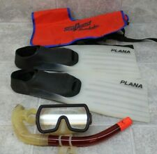 Variety of Scuba Diving Gear - Snorkel & Mask - Size 6-7 Flippers - SeaQuest