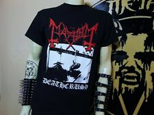 MAYHEM NEW MEDIUM SHIRT.BLACK METAL. GORGOROTH. WATAIN. NARGAROTH. IMMORTAL