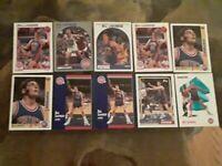 Bill Laimbeer Lot of Ten Detroit Pistons Base Basketball Cards