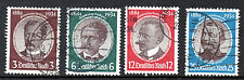 Historical Figures Used Multiple European Stamps