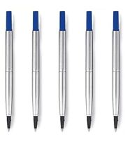 Parker Pen Rollerball Refill BLUE x 5