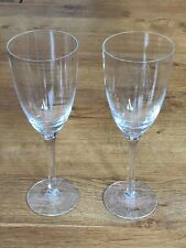 More details for dartington crystal rachael 2 x red wine glasses - vgc - signed