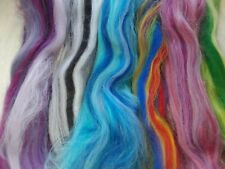 30g 100% Merino Wool Blend Pack in Mixed Colours, Needle Felting, Spinning