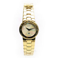 Authentic Gucci Gold-Tone Quartz 3300L Women's Watch