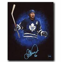Darcy Tucker Toronto Maple Leafs Autographed Custom 8x10 Photo