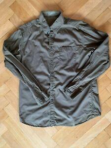 Langarm Hemd von Esprit Farbe oliv  Gr. L