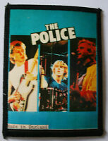 THE POLICE Original Vintage 1980`s Sew On Photo Card Patch not shirt badge lp cd