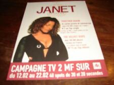 JANET JACKSON TOGETHER AGAIN!!!!!!RARE FRENCH PRESS/KIT