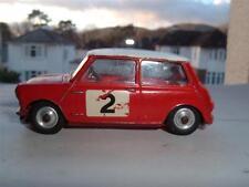 CORGI jouet 321 1966 MONTE CARLO Rallye BMC MINI COOPER S TIMO MAKINEN Paul Pâques