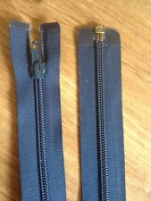 """New Navy Blue Open End Zip By Pex  28"""" Or 72cm Fast FREE Postage"""