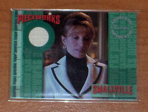 SMALLVILLE S.6 ULTRA RARE COSTUME CARD Genevieve Teague PW6