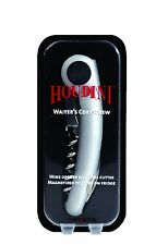 HOUDINI Magnetic Waiter's Corkscrew Silver Wine Tool Foil Cutter ~ New