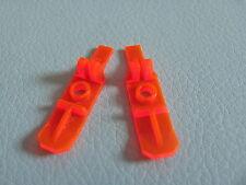 LEGO 6120 @@ Minifig, Footgear Ski @@ TRANS NEON ORANGE