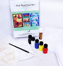 Silk Painting: Cardmaking kit - makes 5 lovely cards- Animal designs