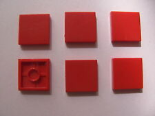 LEGO 3068b @@ TILE 2x2 (x6) @@ Red 232 268 269 276 297 853 5233 7822 41101