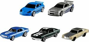 Hot Wheels Fast And Furious 5 Pack Vehicles
