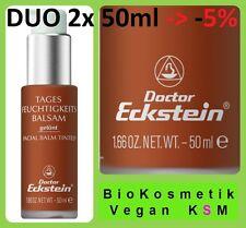 Duo Tages Feuchtigkeits Balsam getönt 100 ml von Dr.Eckstein BioKosmetik
