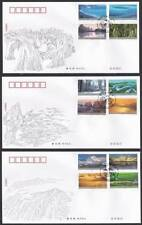 CHINA 2004-24 Frontier Scenes of China 祖国边陲风光 stamp FDC
