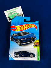Hot Wheels  - BUGATTI - '16 Chiron BLUE - Single - QTY Available - S10