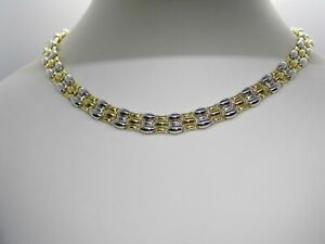 Chimento Gold Necklace 18kt Reversible Collier En Or