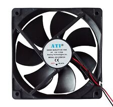 USA Seller DC Axial Fan 120×120×25mm, 12V