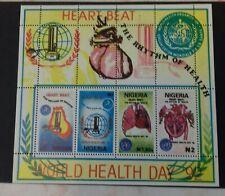 Nigeria (292) 1992 World Health Day m/sheet  unmounted mint