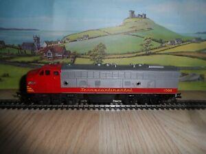 TRIANG MODEL RAILWAYS OO GAUGE TRANSCONTINENTAL DIESEL LOCOMOTIVE 4008