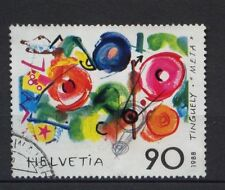 Svizzera 1988 SG # 1155 L'ARTE MODERNA Usato # 4