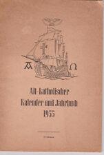 1955 Alt-Katholisches Jahrbuch Kalender /Episcopal Church USA Rev. Henry Sherill