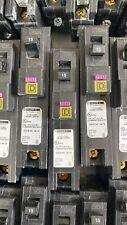 Square D Dual Function Circuit Breaker HOM115PDF AFCI / GFCI BREAKER  -USED-