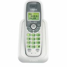 6.0 Cordless Phone White/Grey 1 Handset VTECH CS6114 DECT MP
