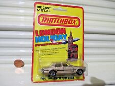 Lesney Matchbox 1979 MB55 Tan Ford Cortina White Seats Nu in VeryGood BubblePack
