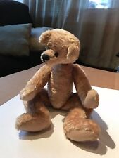 VINTAGE FULLY JOINTED MOHAIR BARBARA KING BEARS TEDDY BEAR RARE FIND!!