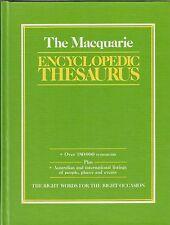 The Macquarie Encyclopedic Thesaurus by John ed. Bernard (Hardback, 1990)  #KAD
